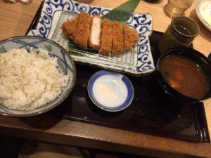 かつ勢志摩店 ロースカツ膳