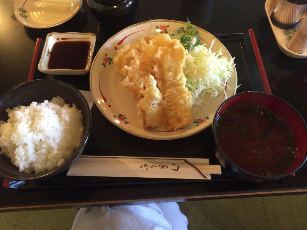 福°ぷく屋 ランチ 鶏天ぷら定食