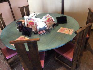やまと茶屋 テーブル席2