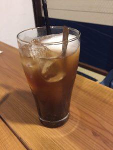 わっくカフェ黒糖蜂蜜ジンジャエール