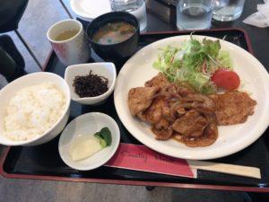 カントリーハウス生姜焼き定食