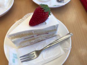 シャロンいちごのショートケーキ