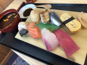 あかだま寿司日替わり