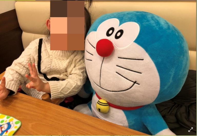 ココス玉城店お子様誕生日記念写真サービス1