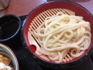 丸亀製麺 ざるうどん(並)