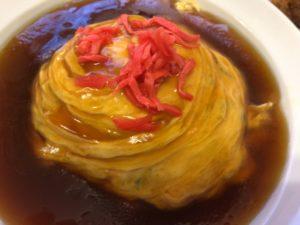福楽 若鶏の唐揚+天津飯 メニュー2