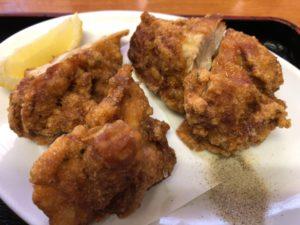 福楽 若鶏の唐揚+天津飯 メニュー3