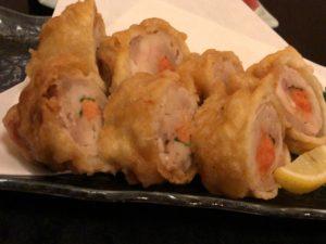薩摩 鶏肉の明太子揚げ2