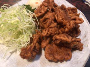 福昇亭 肉から揚げ1