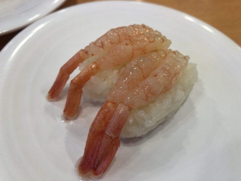かっぱ寿司 甘海老