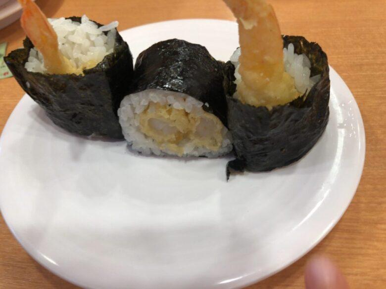 かっぱ寿司 えび天巻