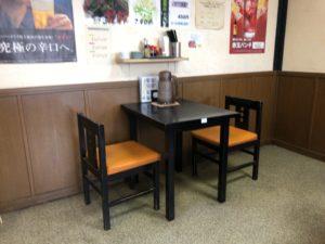 とん亭 テーブル席