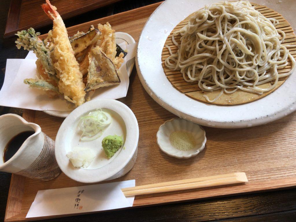 柿右衛門 天ざる蕎麦1