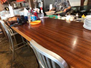 エースバガーカフェ カウンターテーブル