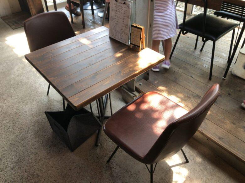 akatoki テーブル席1